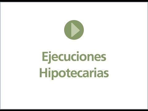 Ejecuciones hipotecarias. José Ángel Castillo. AGUAYO ABOGADOS. Octubre 2013