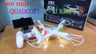 [Mở Hộp] Quadcopter SJ X300 - 1CW Wifi Cam FPV   GearBest