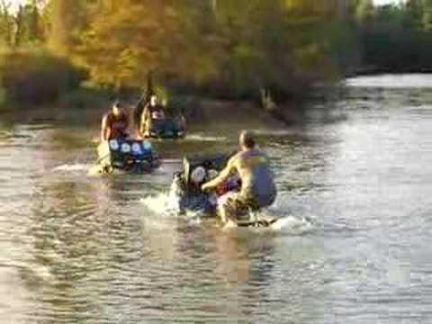 US Coast Guard & The ATV Water Ballet