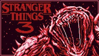 Stranger Things 3 Gameboy'd
