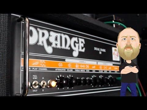 Orange Dual Dark 50 All Valve Guitar Head - REDUCED