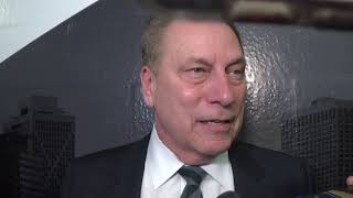 Tom Izzo Informal  Post Game After Win Over UM!