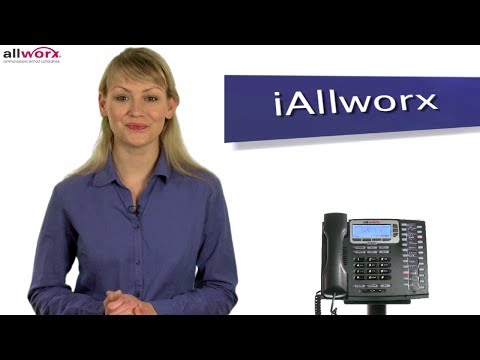BizVoip.com Presents Allworx Training Series: iAllworx (Mobile Link)