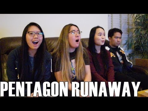 PENTAGON (펜타곤)- Runaway (Reaction Video)