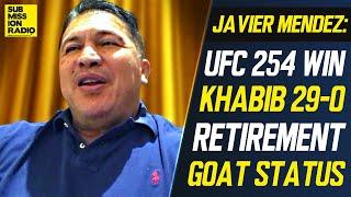 Khabib's Coach Reacts to Retirement, UFC 254 Win, Reveals Khabib Was Hospitalized, GOAT Status