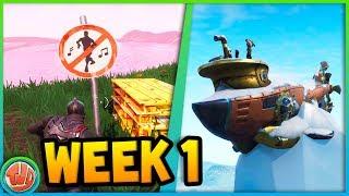 DE ONDERZEEËR IS HEEL BELANGRIJK!! (WEEK 1) - Fortnite: Battle Royale