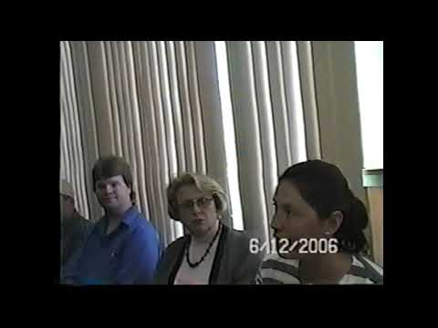 Champlain Village Board Meeting  6-12-06