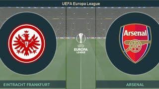 Frankfurt vs Arsenal Vòng Đấu Bảng F Cúp C2 Châu Âu Ngày 19_9_2019 PES 2019