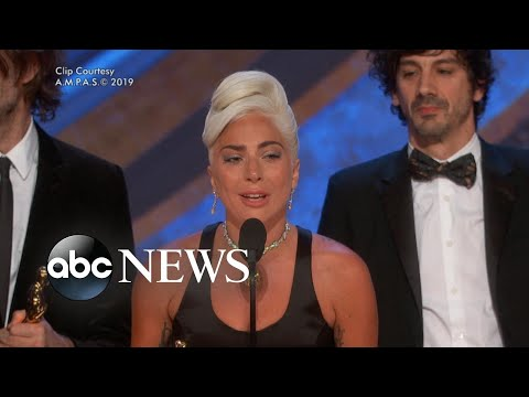 Lady Gaga on her buzzed-about Oscars performance