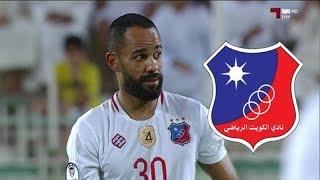 هدف صابر خليفة الاول مع الكويت الكويتي     -