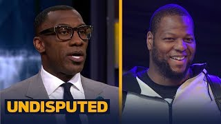 Skip and Shannon on the Rams signing Ndamukong Suh, looking at Odell | UNDISPUTED