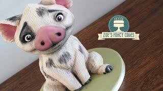 Moana cake Pua the pig