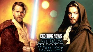 Star Wars Episode 9 Ewan Mcgregor! Exciting News Revealed (Star Wars News)