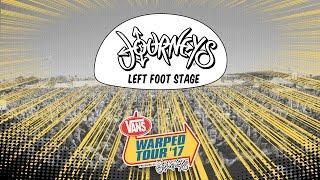 Journeys Left Foot Stage :: Vans Warped Tour 2017