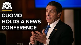 New York Gov. Andrew Cuomo holds a news conference — 9/24/2020