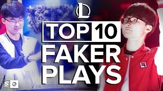 The Top 10 Faker Plays in Competitive League of Legends