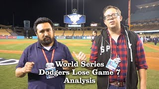 Analysis: Dodgers Lost The World Series   Los Angeles Times
