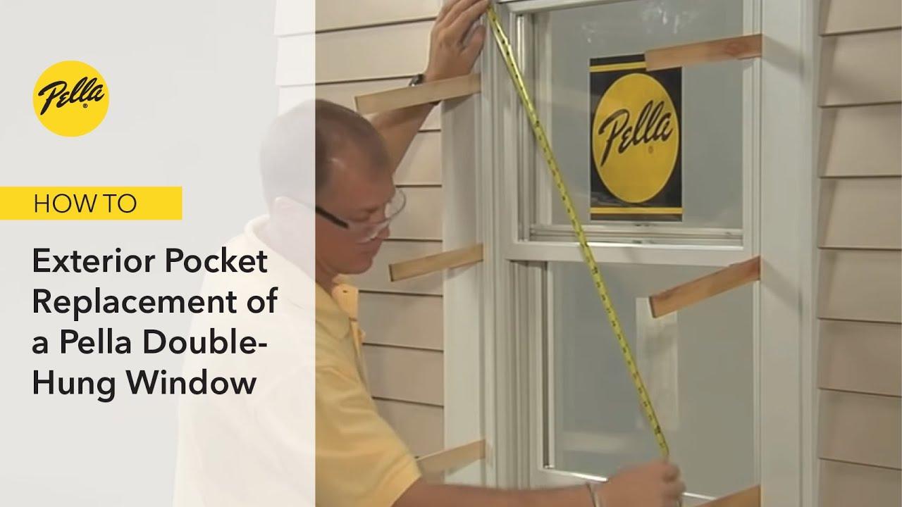 Window Installation Proper Exterior Pocket Replacement