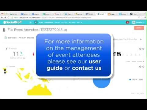 How to manage your Event Attendees