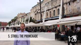 Top 10 Things to Do in Split and Dubrovnik, Croatia