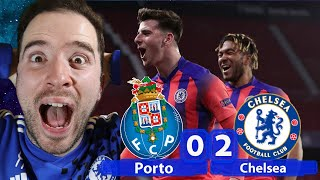 TWO AWAY GOALS! Chelsea Heading To The Champions League Semi Final? | Porto 0-2 Chelsea