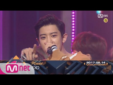 Top in 2nd of September, 'EXO' with 'Power', Encore Stage! (in Full) M COUNTDOWN 170914 EP.541