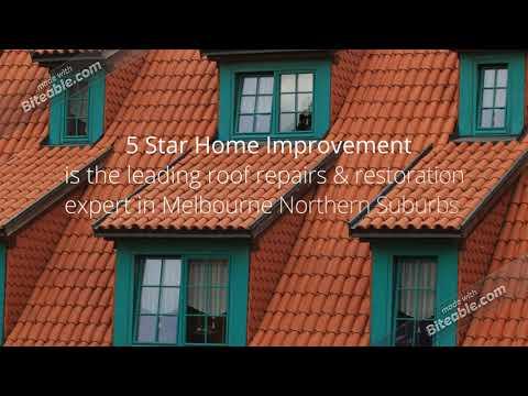 Roof Repairs & Restoration Expert - 5 Star Home Improvement