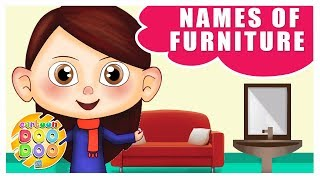 Learn Names of Furniture for Kids   Educational Videos for Children   Cartoon Doo Doo TV