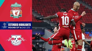 Liverpool vs. RB Leipzig: Extended Highlights | UCL on CBS Sports