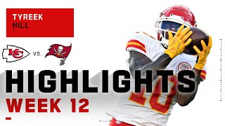 Tyreek Hill Goes Absolute BEASTMODE w/ 269 Yds & 3 TDs | NFL 2020 Highlights