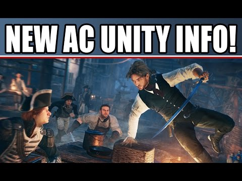 Assassin's Creed Unity New Gameplay Facts: Coop! Outfits! Hideouts, Screens & Interview & AC Rogue