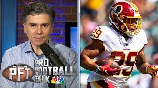 Washington swiftly moves on from RB Derrius Guice   Pro Football Talk   NBC Sports