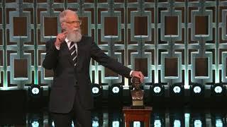 David Letterman Mark Twain Award Speech