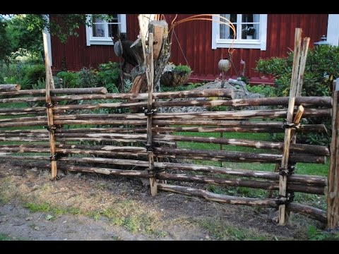 build swedish wooden fence g rdesg rd schwedischer holzzaun. Black Bedroom Furniture Sets. Home Design Ideas