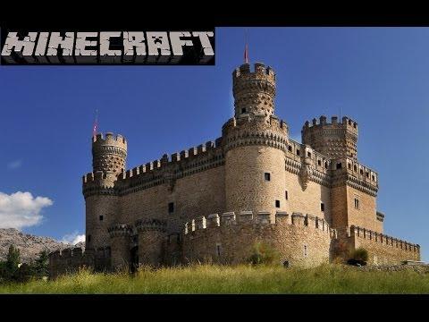 Como hacer un hermoso castillo en minecraft pt 1 musica for Como hacer una casa clasica de ladrillo en minecraft