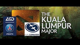 (ENG LIVE) PSG.LGD vs EG (Kuala Lumpur Major)(BO3)(Lower Bracket)