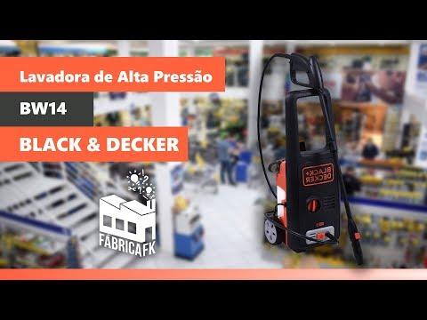 Lavadora de Alta Pressão 1595lb BW14-BR Black&Decker 127V - Vídeo explicativo