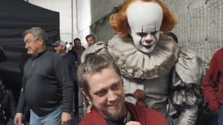 IT Chapter 2 - last shot with Pennywise  Behind the Scenes