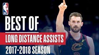 Best Long Distance Assists | 2018 NBA Season