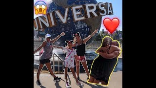 SURPRISING BEST FRIEND ON MY FAMILY VACATION!!!!