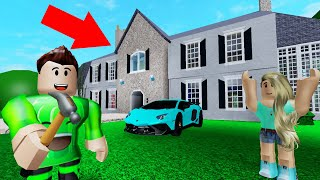 I BUILT A MANSION For My GIRLFRIEND! (Roblox)