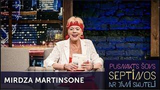 Mirdza Martinsone par mīlestības vēstulēm   Pusnakts šovs septiņos   S06E02