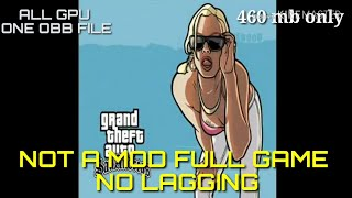 [All gpu full ver.]how to download gta sa non lagging and crashing with gameplay proof