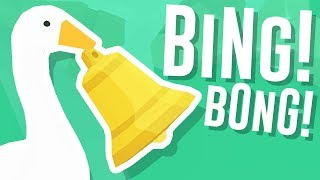 I STOLE a GOLD BELL in Untitled Goose Game!
