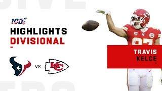 Travis Kelce's MONSTER Day vs. Texans | NFL 2019 Highlights