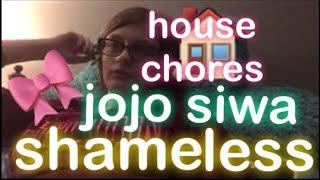 house chores, jojo siwa