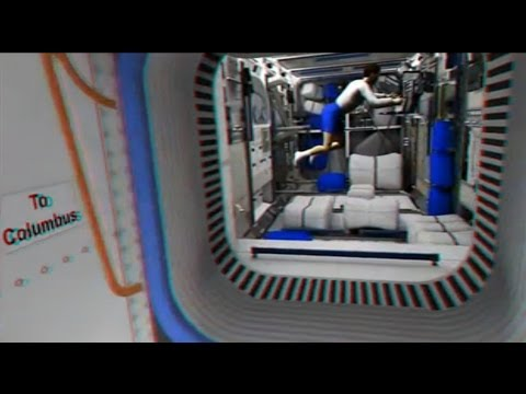3D virtual tour of the International Space Station