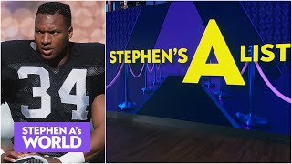 Stephen A. ranks his top 5