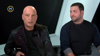 Talking about mental health with Howie and Alex Mandel | Bell Let's Talk | Your Morning