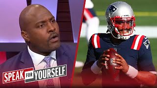 Marcellus Wiley defends Cam Newton after 'ugly' Patriots win vs Cardinals | NFL | SPEAK FOR YOURSELF